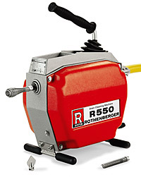 Rothenberger R 550 Drain cleaning Machine
